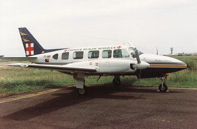 P2-AWF PIONEER HEALTH SERVICE PIPER PA-31 NAVAJO CHIEFTAIN