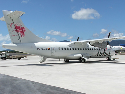 P2-ALA AIRLINK PNG . ATR-42 NOW REGISTERED AS VH-AVV