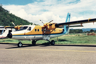 P2-MCF MILNE BAY AIRLINES TWIN OTTER