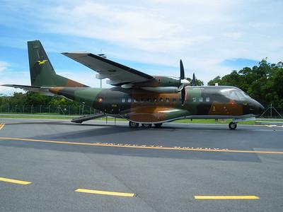P2-0502 CASA CN-235 PNG DEFENSE FORCE