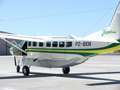 P2-BEN TROPICAIR CESSNA-208 CARAVAN