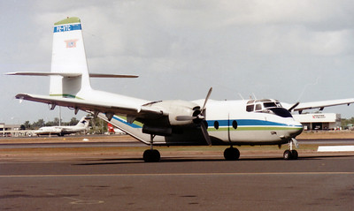 P2-VTC VANIMO TRADING DH-7 CARIBOU. CRASHED 01 JULY 1995