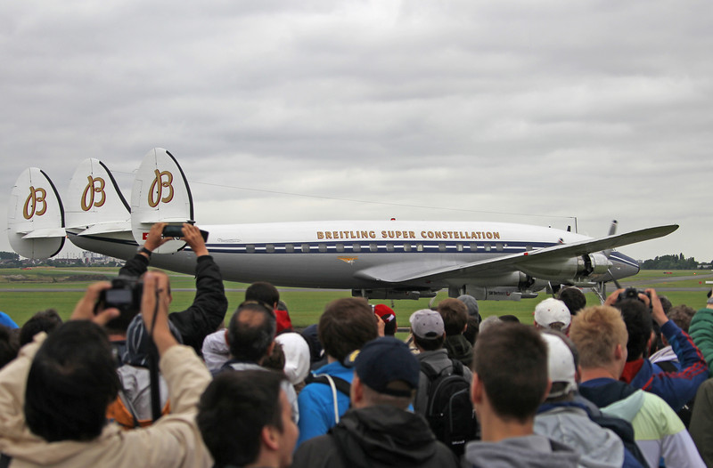 Paris Airshow - Le Bourget - 2013 - Breitling Super Constellation