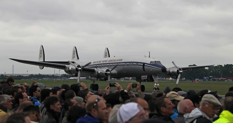 Paris Airshow - Le Bourget - 2013 - Breitling Super Constellation