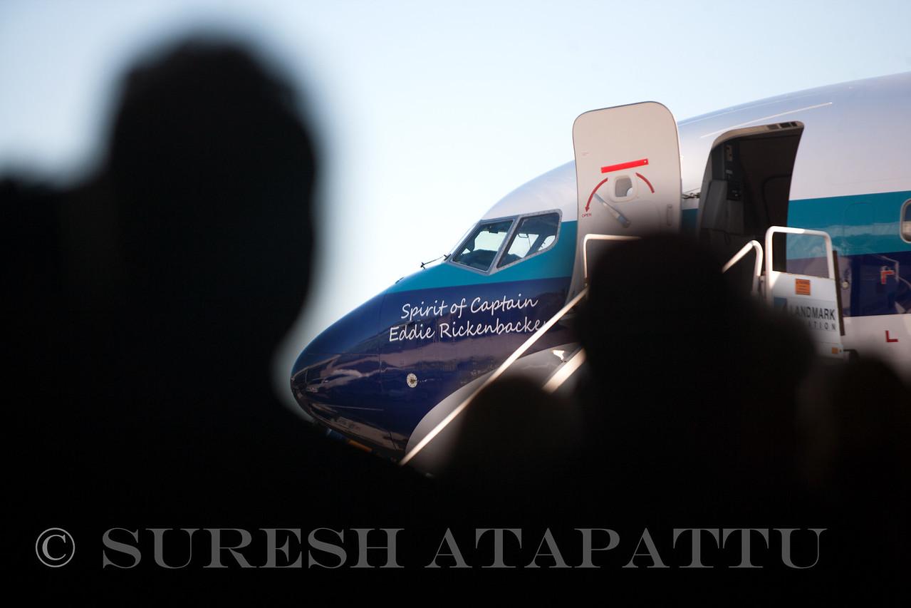 Eastern Air Lines innaugural ceremony