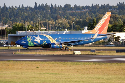 "N727SW (cn 27859/274) ""Nevada One""  PDX - Portland International Airport  Southwest Airlines  Boeing 737-7H4"