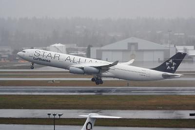"""D-AIGC (cn 027) """"Star Alliance""""  Airbus A340-311 Lufthansa"""