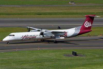 "Bombardier DHC-8-402Q Dash 8 Horizon Air N402QX s/n 4032 ""The University of Montana"""