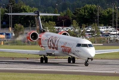 "N609QX (sn 10031) | ""Oregon State University""  Bombardier (Canadiar) CRJ 700  Horizon Air"