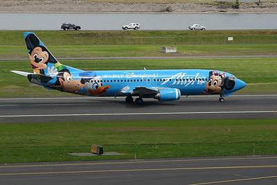 """N784AS (cn 28199/2826) """"Spirit of Disneyland""""  Boeing 737-4Q8  Alaska Airlines"""