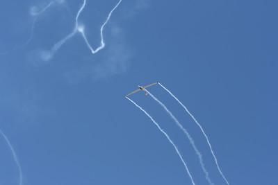 Sailplane aerobatics.