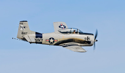"T - 28 C  ""Trojan"" flown by ""Doc"" Serrato"