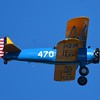 We begin this air show with the grand daddy of aircraft. The mighty Stearman! Look closely in the next several photos as you might see facial expressions of the pilot.