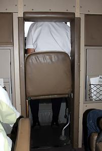 Der 'flexible' dritte Platz im Cockpit.