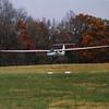 Landing: spoilers fully deployed, gear down, 65 Kts