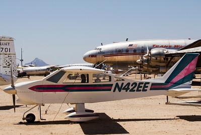 Private plane & TWA jet  6482