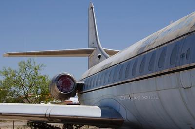 Jet engine & tail 6472