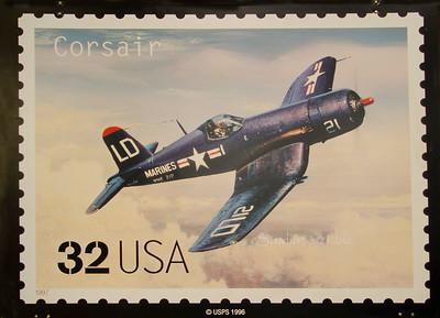 Corsair 32c USA stamp 1996