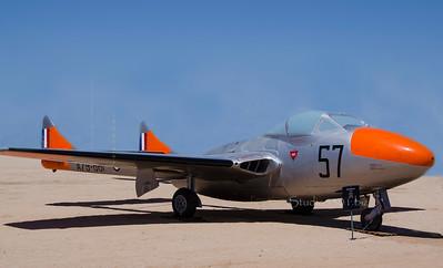 Dehavilland T 35 Vampire Trainer 6556