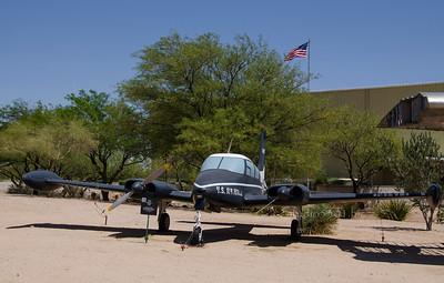 USAF 2 engine plane 6491