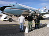 "C-118A V.I.P. model served as ""Air Force One"" for Presidents  Kennedy and Johnson,"