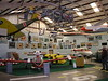 experimental planes and a Wright Flyer greet you in the main hangar