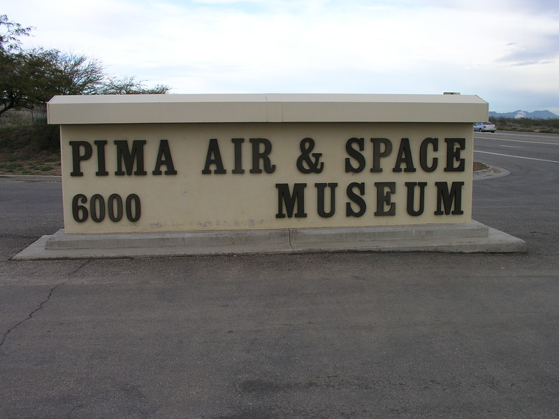 museum entrance on Valencia Street in Tucson