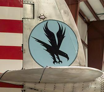 1945 P-38 Tail Art