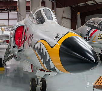 1957 Grumman F11 A/1 Tiger Nose Art