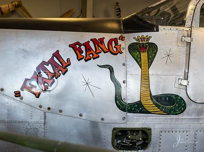 1943 BELL P-63C Nose Art