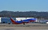 Southwest Airlines Boeing 737 taking off.