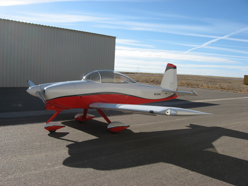 RV-8A at Double eagle II