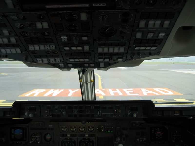 Runway ahead = the best is yet to come :-) Milano Airport.