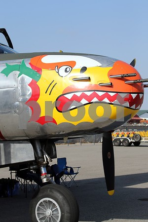 Planes of Fame Static Displays 4 29 2016 Air Show Chino Airport