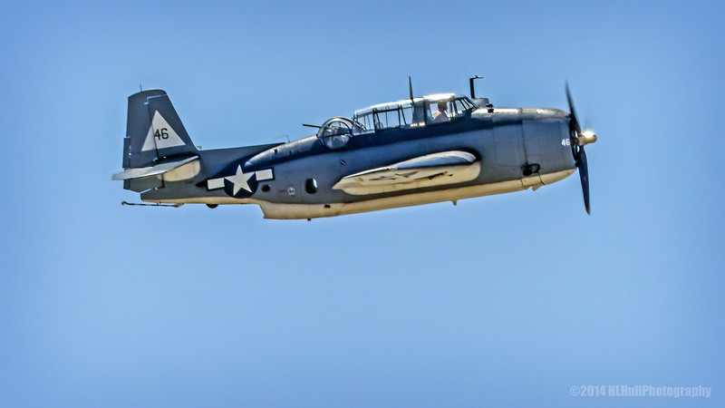 Grumman TBF Avenger...<br /> <br /> Planes of Fame Air Show, May 3-4, 2014<br /> Chino Airport<br /> Chino, CA