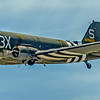 "Douglas C-47 Skytrain...<br /> <br /> The Douglas C-47 Skytrain or Dakota (RAF designation) is a military transport aircraft developed from the civilian Douglas DC-3 airliner. It was used extensively by the Allies during World War II and remained in front line service with various military operators through the 1950s. <a href=""http://en.wikipedia.org/wiki/Douglas_C-47_Skytrain"">http://en.wikipedia.org/wiki/Douglas_C-47_Skytrain</a><br /> <br /> Planes of Fame Air Show, May 3-4, 2014<br /> Chino Airport<br /> Chino, CA <a href=""http://planesoffame.org/"">http://planesoffame.org/</a>"