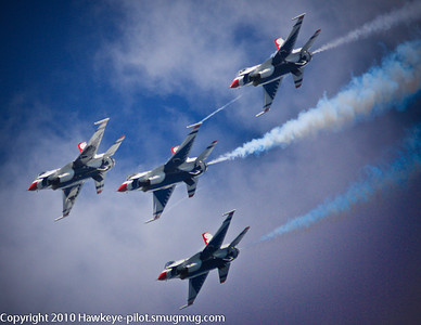There are the best, the very best, and then there are The Thunderbirds! Go Air Force!