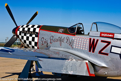 Oh, you great 'Big Beautiful Doll'! Another P-51 Mustang