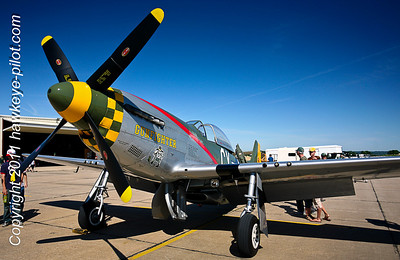 "The ""Gunfighter"" lives on and on…no stopping this WWII Ace P-51 Mustang!"