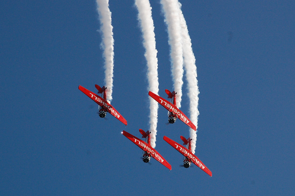 Team Aeroshell<br /> North American T-6 Texan