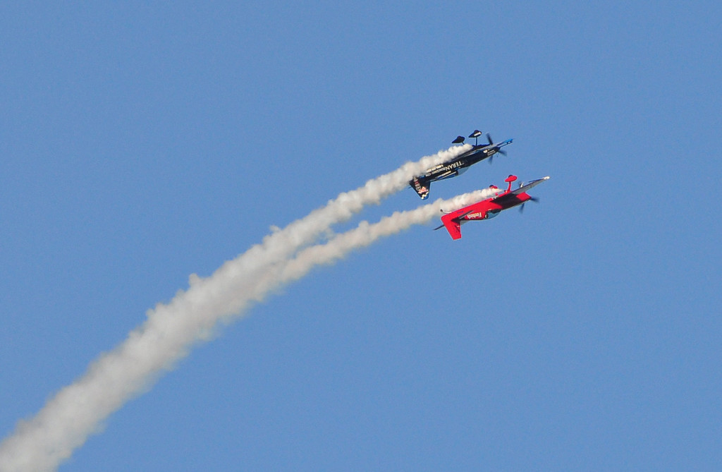 These two performed incredible aerobatics and were a blast to watch.