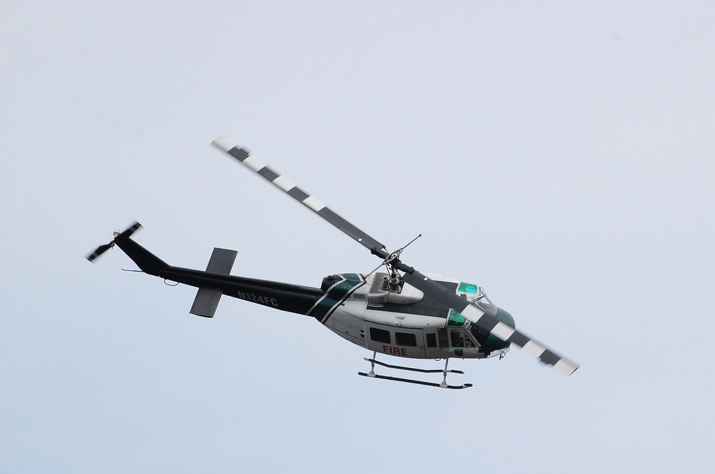 Forest Service UH1H  Huey