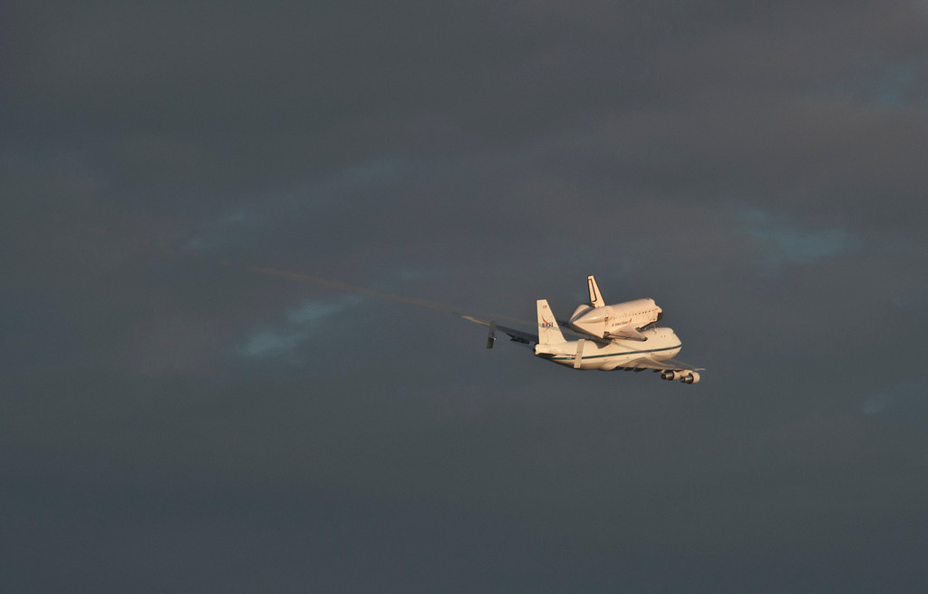 Endeavor's final flight from Kennedy Space Center.