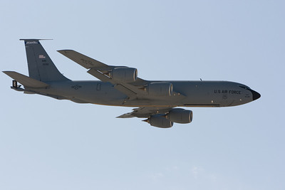 US Air Force KC-135, flown by the NH Air National Guard.  Just after a touch and go.