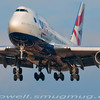 British Airways B747