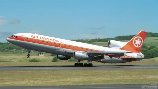 C-FTNJ. Lockheed L-1011-385-1-15 TriStar 100. Air Canada. Prestwick. 1980`s.