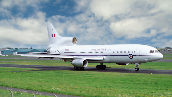 ZD948. Lockheed L-1011-385-3 TriStar K1. RAF. Prestwick. 1980`s.