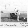Jack Jaenicke's with his Aeronca C3