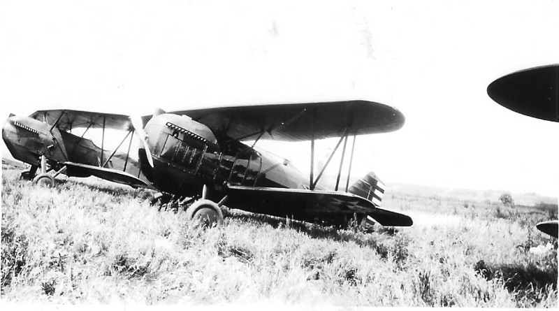 November 8, 1937 - Curtiss Hawk Biplanes - Chicago, IL