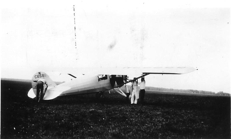 Ryan B-1 Brougham S/N 128, NC6586